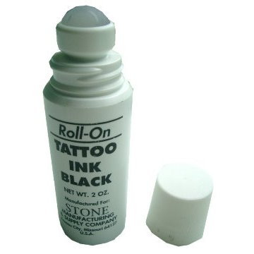 滾珠油墨 Stone Roll-on Tattoo Ink 2oz產品圖